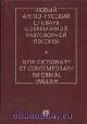 Новый англо-русский словарь современной разговорной лексики